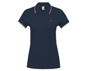 TW Polo Tipped | Women's Polo - Navy