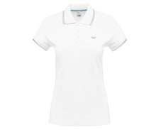 Load image into Gallery viewer, TW Polo Tipped | Women's Polo - White