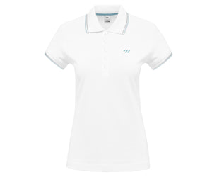 TW Polo Tipped | Women's Polo - White