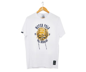 WP WILL NEVER DIE - Skull / White | T-Shirt