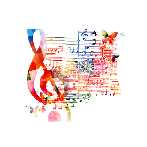Image of Music Soul (Música en el alma) - Canvas Mérida Fine Print Art