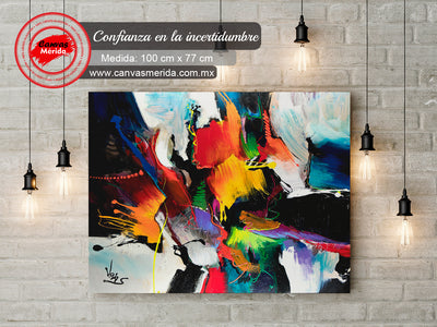 Confianza en la incertidumbre - Canvas Mérida Fine Print Art