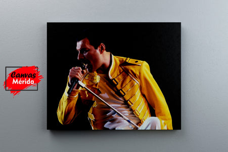Freddie Mercury number 13 - Canvas Mérida Fine Print Art