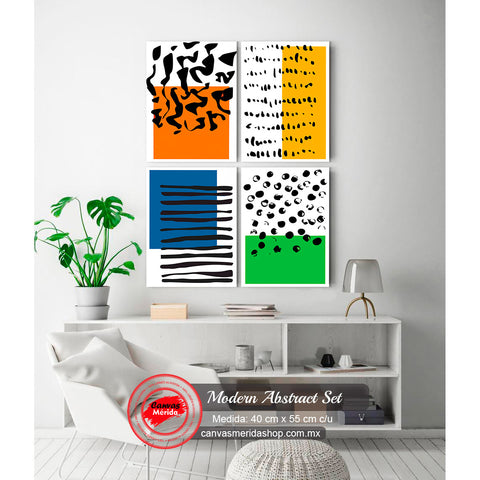 Modern Abstract Set