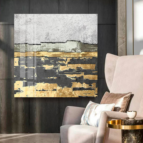 Modern Abstract Painting - Canvas Mérida Fine Print Art