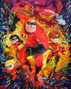 The-Incredibles - Canvas Mérida Fine Print Art