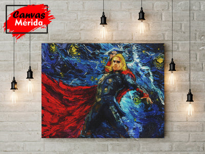 Thor - Canvas Mérida Fine Print Art