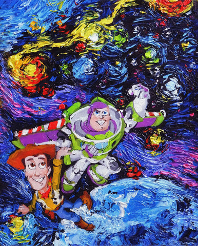 Image of Toy-Story - Canvas Mérida Fine Print Art