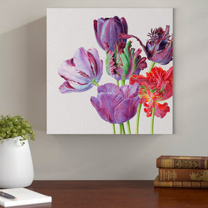 Tulip Painting - Canvas Mérida Fine Print Art