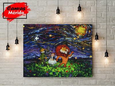 Wizard-of-Oz - Canvas Mérida Fine Print Art