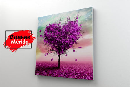 Tree of Love - Canvas Mérida Fine Print Art