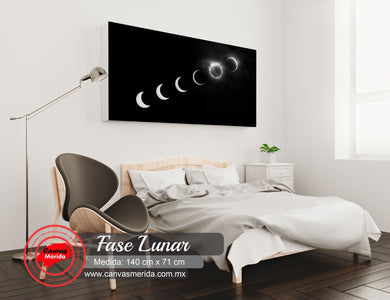 Fase lunar - Canvas Mérida Fine Print Art