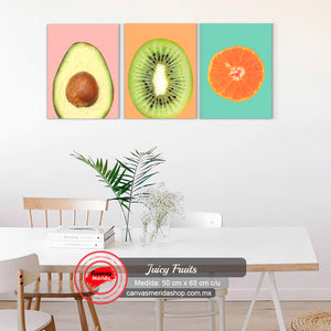 Juicy Fruits - Canvas Mérida Fine Print Art