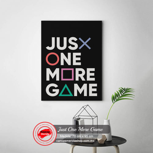 Just One More Game - Canvas Mérida Fine Print Art