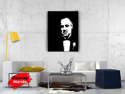 The Godfather - Canvas Mérida Fine Print Art (4500948353163)