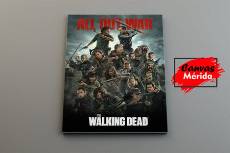 The Walking Dead - Canvas Mérida Fine Print Art