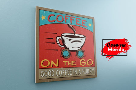 Coffe Time number 20 - Canvas Mérida Fine Print Art (4500945240203)