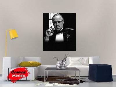 The Godfather # 2 - Canvas Mérida Fine Print Art
