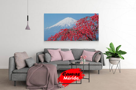 Monte fuji - Canvas Mérida Fine Print Art