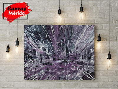 Chicago Skyline number 4 - Canvas Mérida Fine Print Art (4512340377739)
