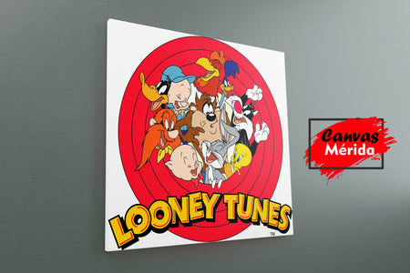 Looney tunes - Canvas Mérida Fine Print Art