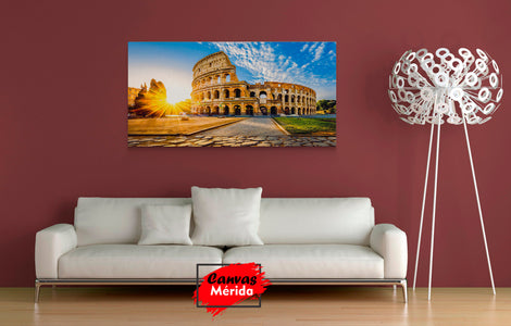 Coliseo romano - Canvas Mérida Fine Print Art