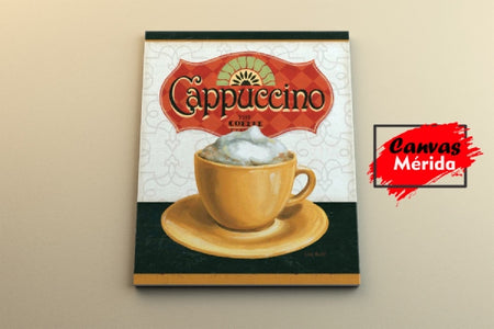 Coffe Time number 6 - Canvas Mérida Fine Print Art