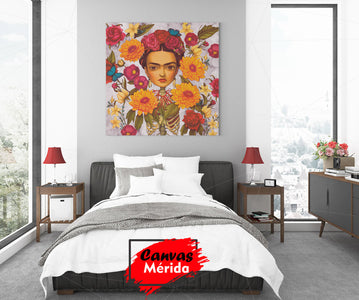 Frida Nature - Canvas Mérida Fine Print Art