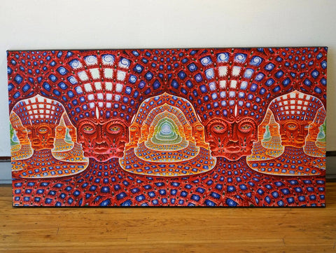 Net of being (Alex grey) - Canvas Mérida Fine Print Art
