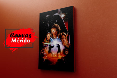 Starwars Vintage Afiche # 6 - Canvas Mérida Fine Print Art
