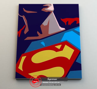 Superman - Canvas Mérida Fine Print Art