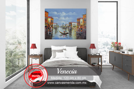 Venecia - Canvas Mérida Fine Print Art