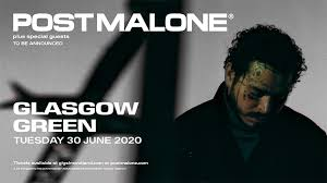Post Malone- Glasgow Green - General Access ticket