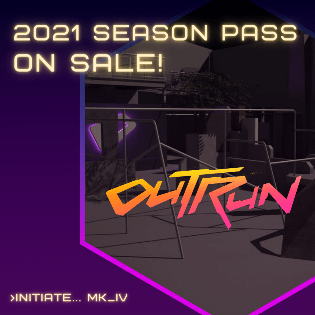 2021 Outrun 6 Month Season Parkour Pass