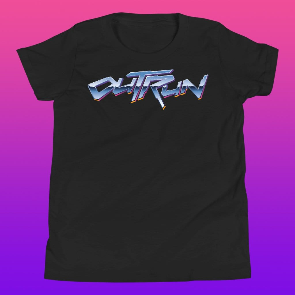 Kids Outrun Chrome Tee