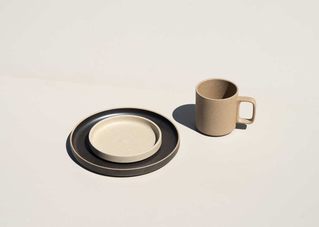 Hasami Porcelain dinnerware is now available at Commonplace design shop in Milwaukee, Wisconsin.