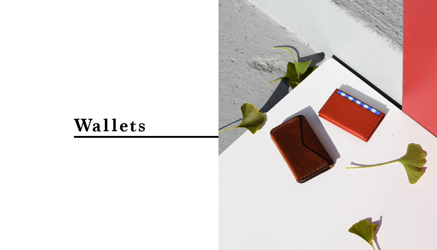 Commonplace Gift Guide - Wallets