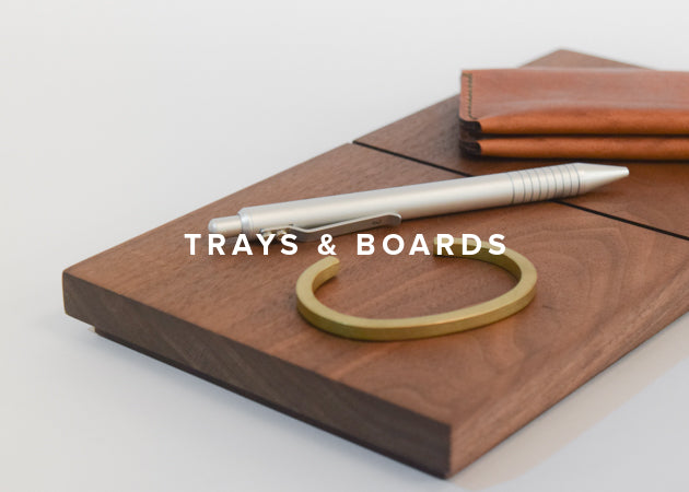 Commonplace - Trays & Boards