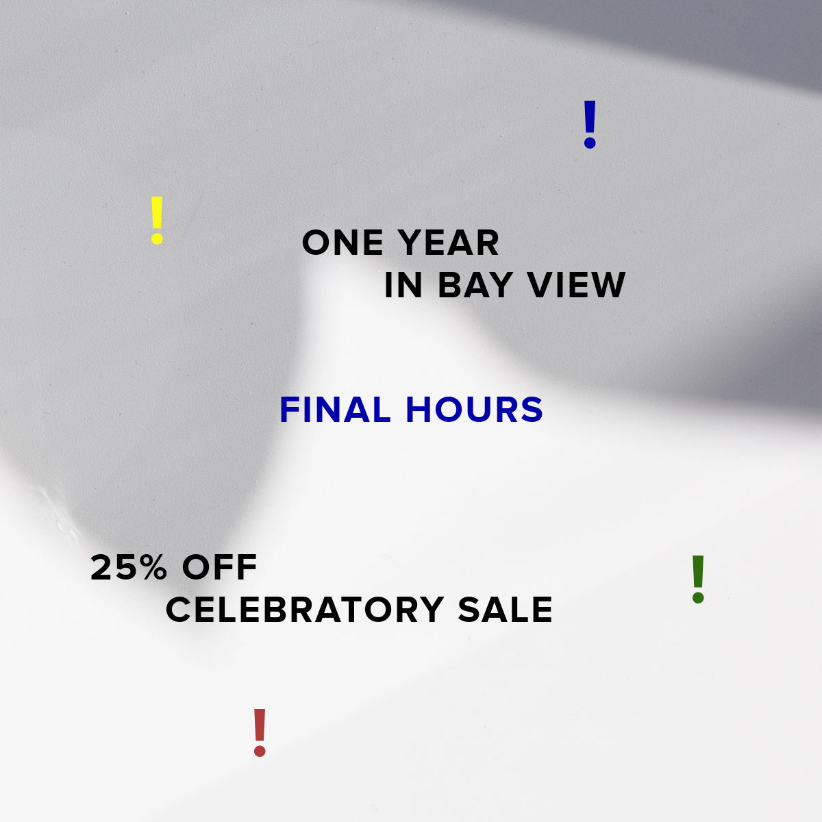 One Year Sale / Commonplace