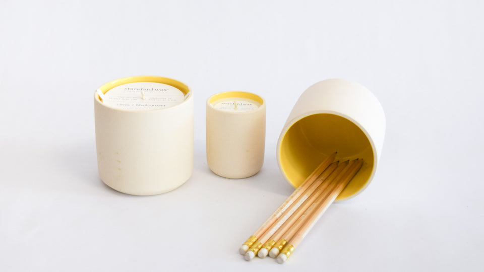 Standard Wax Soy Candles   Commonplace