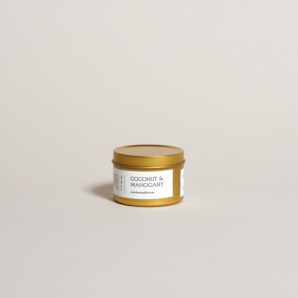 Mahogany & Coconut Candle (3.4 oz)