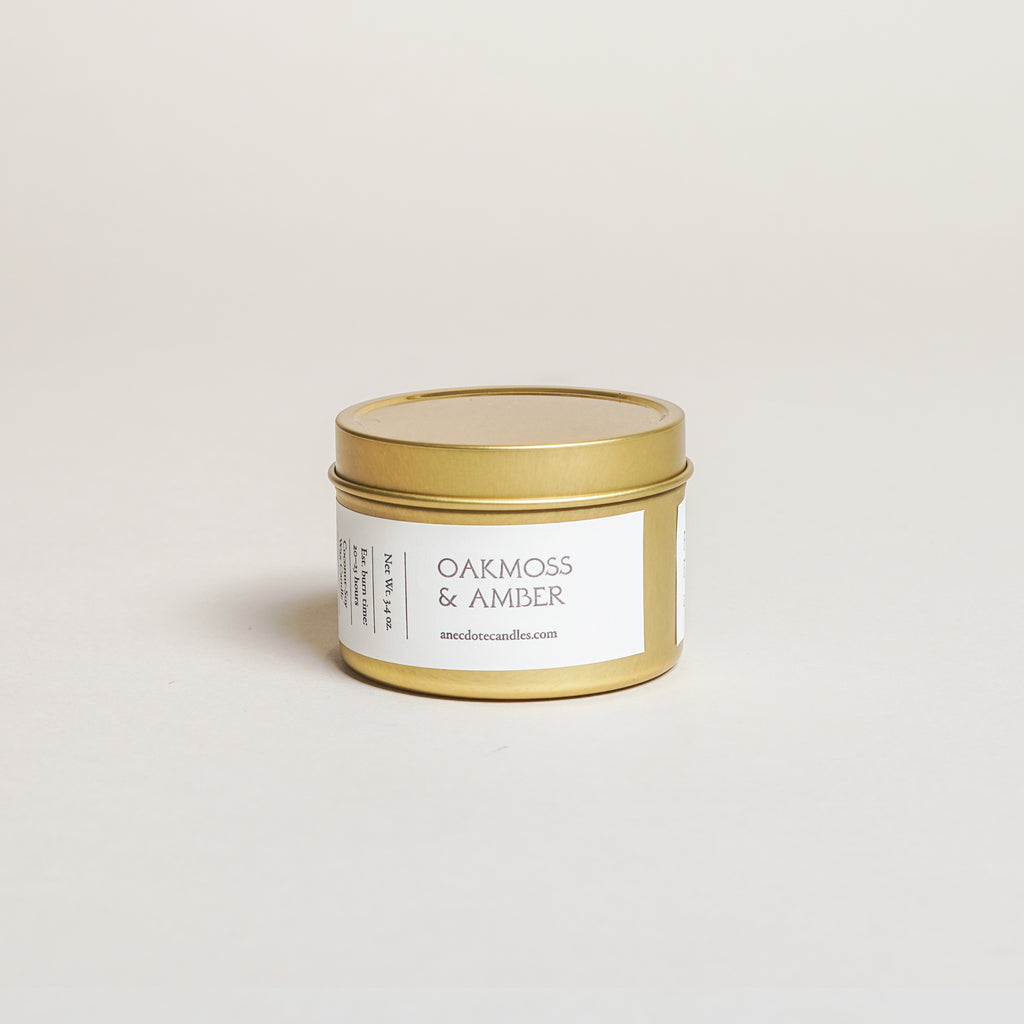 Oakmoss & Amber Candle (3.4 oz)