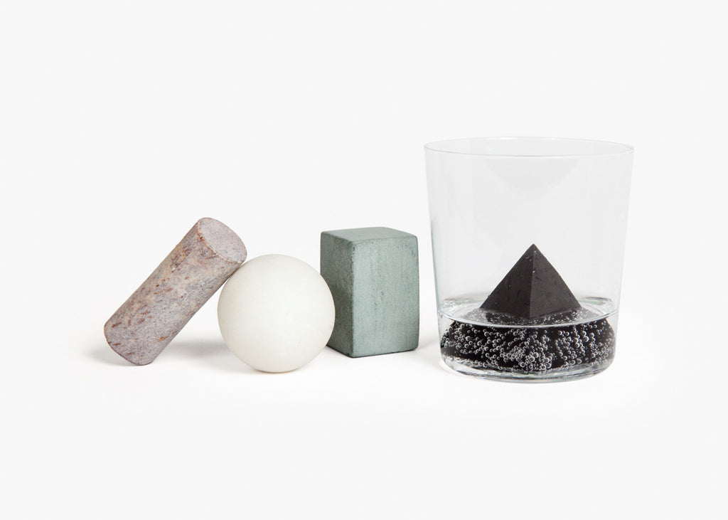 The Areaware Drink Rocks (Cubes) designed by Runa Klock.