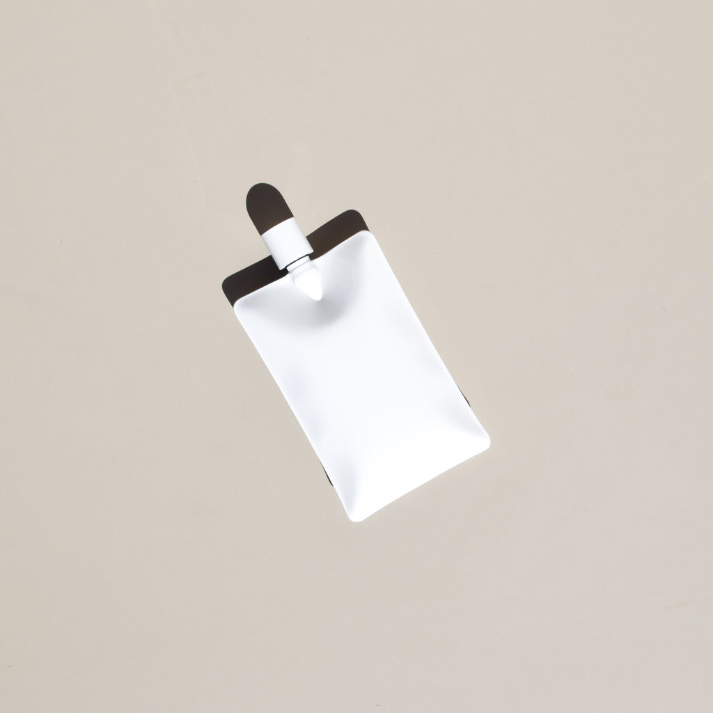 Liquid Body Flask (White)
