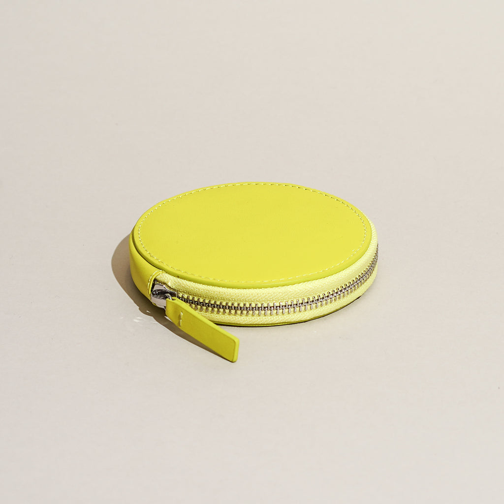 Circle Wallet (Chartreuse)