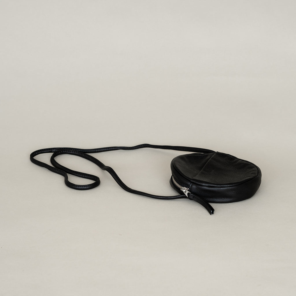 Mini Circle Purse (Black)