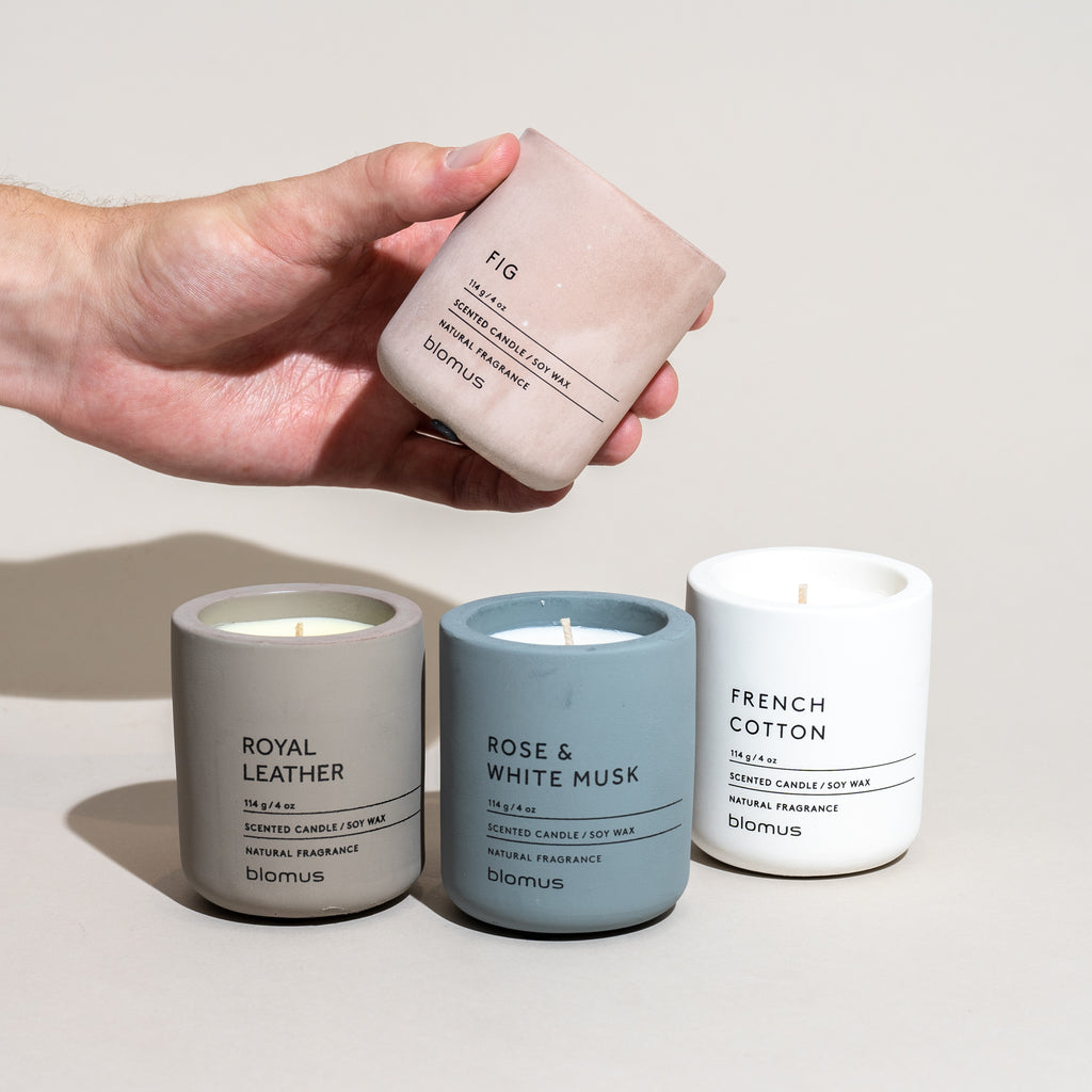 Concrete Candle (French Cotton)