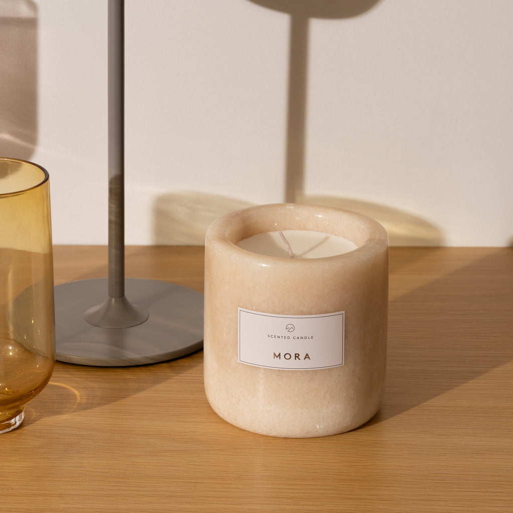 Marble Candle (Mora)