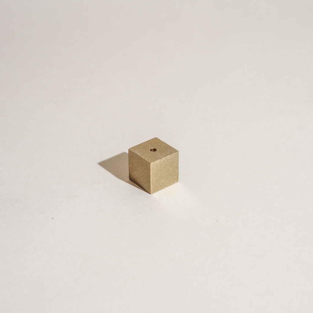 Brass Cubic Incense Holder