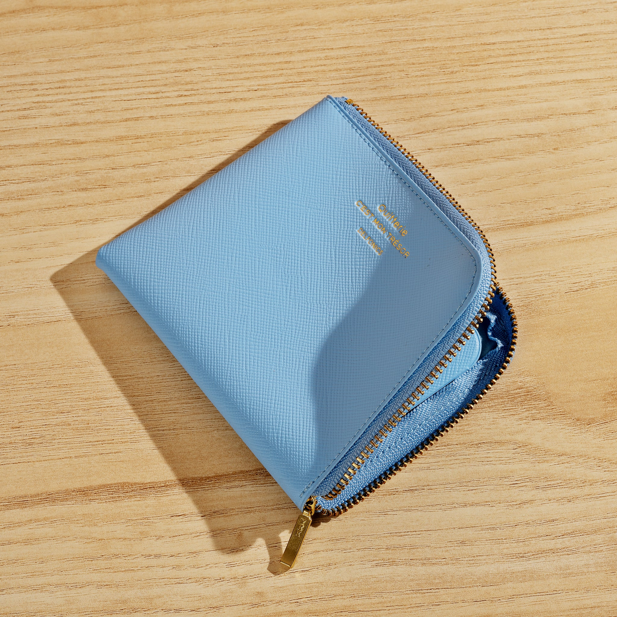 Quitterie Half-Zip Wallet